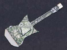 ELECTRIC GUITAR Dollar Origami