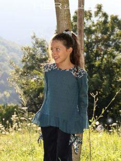 HER Little world, Patron de couture pour vêtement enfant, tunique Poétique
