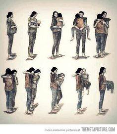 Go and give your mom a hug…  :( short, real life, mothers day, art, early childhood education, daughter, circle of life, life cycles, mother son