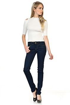 Sweet Look Premium Edition Women's Jeans - Style L20000 - Navy - Size 11 >>> Details can be found at
