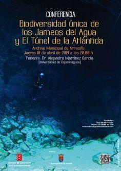 Biodiversidad única de los Jameos del Agua y El Túnel de la Atlántida. Lanzarote. Canarias.