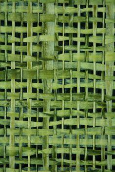Green   Grün   Verde   Grøn   Groen   緑   Emerald   Colour   Texture   Style   Form   Pattern   vintage handmade bamboo japanese wallpaper