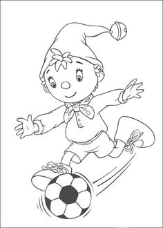 Coloriage Dessins. Noddy 68