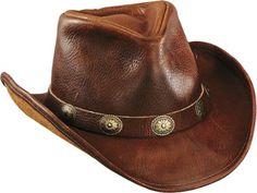 4a63c5933d936 Western Full Grain Raging Bull Leather Western Cowboy Hat  64.95 Leather  Cowboy Hats