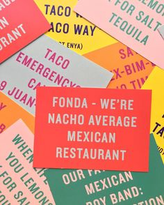 Hola Amigos we value you so much here at Fonda, so we'd love you to share your feedback and ideas about your experience! Next time you drop in, pick up a feedback postcard and share your thoughts! To say gracias, we will put you in the monthly draw to win a $100 Fondollar voucher #nachoaveragerestaurant #fondamexican