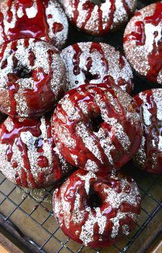 Raspberry Chocolate DoughnutsReally nice recipes. Every  Mein Blog: Alles rund um die Themen Genuss & Geschmack  Kochen Backen Braten Vorspeisen Hauptgerichte und Desserts