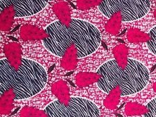 NEW AFRICAN COTTON PRINT FABRIC.**CRAFT & CLOTHING** PRICE PER YARD