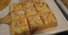 Flammkuchen vom Zauberstein, ein Rezept der Kategorie Backen herzhaft. Mehr Thermomix ® Rezepte auf www.rezeptwelt.de