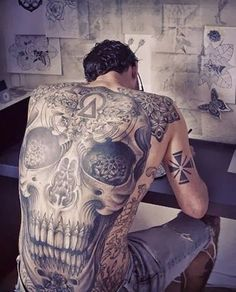 coolTop Tattoo Trends - Back Tattoo Designs30