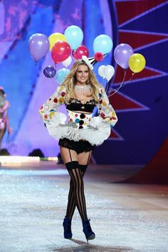 clown http://www.refinery29.com/victorias-secret-halloween-costume-ideas#slide-13  Sexy ClownWe're going to go ahead and say that only Victoria's Secret could turn a concept so terrifying as a clown into something so appealing. Plus, those polka dots are pretty cute....