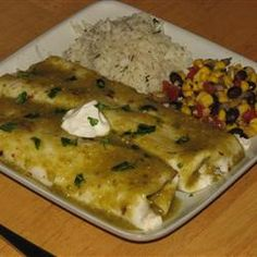 Authentic Enchiladas Verdes Allrecipes.com