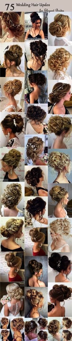 Half-updo Braids Chongos Updo Wedding Hairstyles
