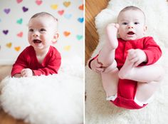 6 month photos for baby!