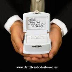caja porta anillos bodas - Bing images