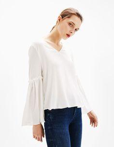 Shirts - CLOTHES - WOMAN - Bershka Taiwan