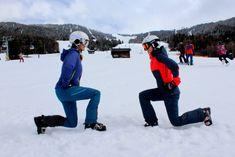 """Warm machen für die Piste – """"Prä-Skiing"""" leicht gemacht!  #pitztal #dachtirols #skigymnastik Sport Model, Bomber Jacket, Blog, Jackets, Fashion, Long Distance, Muscle Soreness, Squats, Skiing"""