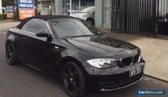2008 BMW 125i CONVERTIBLE IMMACULATE BLACK 1 OWNER #bmw #125iseries #forsale #australia