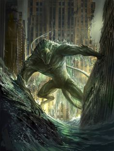 Worm - Endbringer Leviathan by sandara on DeviantArt