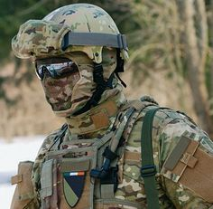 "Matrix Iron Face Carbon Steel ""Striker"" Gen4 Metal Mesh Full Face Mask - Black, Tac. Gear/Apparel, *Head Gear, Head - Masks (Full) - Evike.com Airsoft Superstore"
