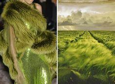 Bluffant : 20 robes de défilés inspirées de magnifiques paysages