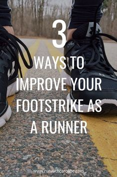How to run properly: Proper running footstrike and ways to improve it — Run With Caroline running plan running day outfits running form to run a marathon for weight loss eating recipes for weight loss for beginners to begin running fast weight loss Running Humor, Running Workouts, Running Training, Running Drills, Triathlon Training, Running Quotes, Running Motivation, Learn To Run, How To Start Running
