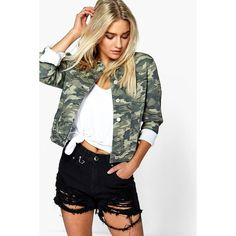 Boohoo Blue Jenna High Rise Distressed Thigh Denim Mom Short ($30) ❤ liked on Polyvore featuring shorts, black, hot pants, high-rise shorts, high waisted sequin shorts, short shorts and ripped denim shorts
