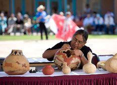 Ceramic Artist at the Indian Pueblo Cultural Center
