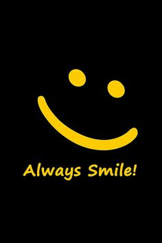Always smile