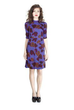 Sessun long walk silk dress