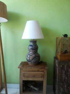 Ceramic lamp./made to order