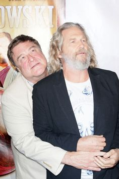 Big Lebowski Reunion Dude and Walter Tv Memes, Funny Memes, Dudeism, Jeff Bridges, The Munsters, Lights Camera Action, The Big Lebowski, Julianne Moore, Cult Movies
