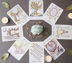 Tarot Readings – Ember + Aura Healing Eight Of Wands, Under The Surface, Tarot Reading, Gift Wrapping, Paper, Wwe, Cards, Healing, Architecture