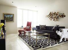 Decoração Com Motivos Geométricos · Contemporary Dining RoomsJonathan  AdlerLiving ...