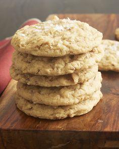 Salty Mixed Nut Cookies ~ http://www.bakeorbreak.com