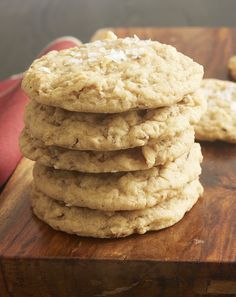 Salty Mixed Nut Cookies