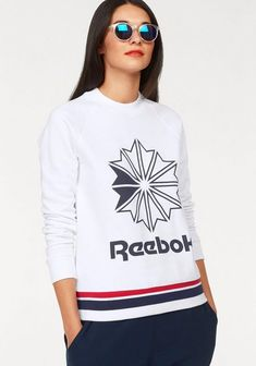 Sweatshirt »AC FT CREW« Reebok, Graphic Sweatshirt, Sweatshirts, Classic, Sweaters, Material, Clothes, Fashion, Style