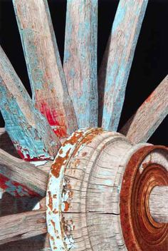 Arcss and Radii Gary Greene Colored Pencil