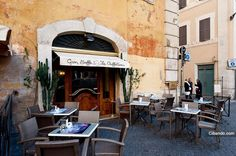 A lovely spot for an espresso... Rome