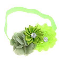 Selljimshop 10 cores grátis frete bebê Chiffon flor Headband meninas Lace Headband bebê cabelo acessórios Jimshopping em Acessórios de Cabelo de Roupas & acessórios no AliExpress.com | Alibaba Group