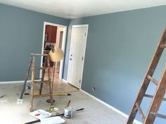 Benjamin Moore Colonial collection. Van courtland blue