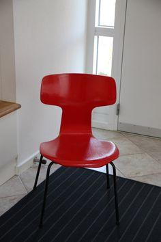 Rare Arne Jacobsen Hammer chair for children on Etsy, $180.00