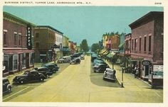 Park St. Tupper Lake, N.Y.