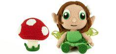 Crochet Pattern Earth Fairy - Amigurumi