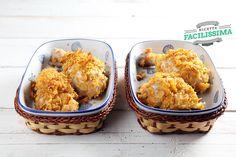Pollo al forno ai corn flakes