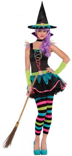 Zucker Hexe Kostüm für Jugendliche Karneval Fasching