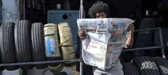 This Intelligent Newspaper Repels Mosquitoes While You Read It