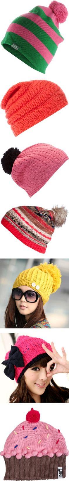 Retro LOS ANGELES Bobble Hat 80s Vtg Style US USA LA Beanie Pompom 2 Colours
