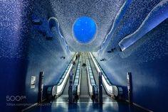 Toledo metro station by giusepperoccato