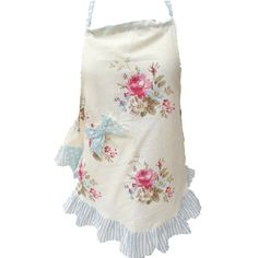 The spring posy bell apron  is designed with pretty blue and floral fabric, and is so gorgeous that it can be worn in the kitchen or when getting messy with crafts but also as a garment over a dress, leggings or skirt.  Girls aprons from Miss Rose Sister Violet have fabric ties for the neck and waist to make them completely adjustable to nearly any size.  Matching mommy apron available - Le Petite Putti Toronto Canada