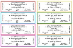 Printable Event Tickets Generic Event Ticket Templates  Tickets  Pinterest  Ticket .